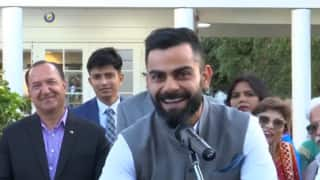 Indian High Commission In New Zealand Hosts Reception For Virat Kohli and Co. | WATCH VIDEO